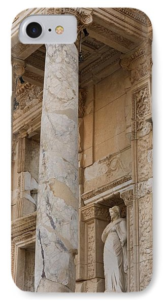 Ephesus Library IPhone Case by David Parker