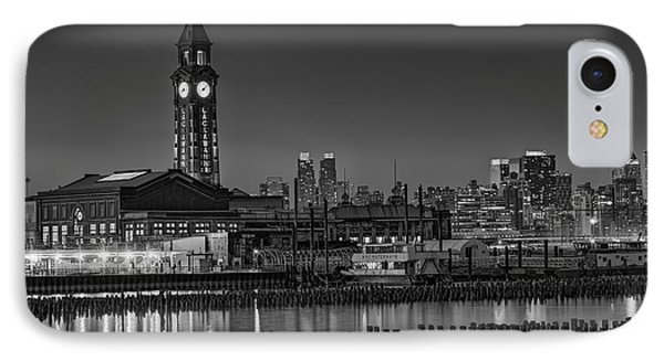 Erie Lackawanna Terminal At Twilight IPhone Case by Susan Candelario