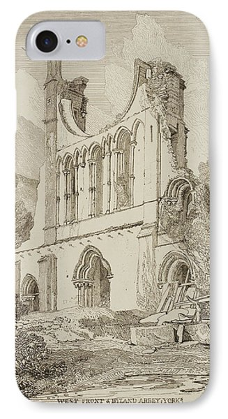 Etchings By John Sell Cotman IPhone Case by British Library
