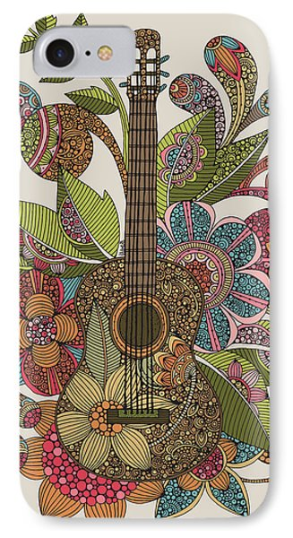 Ever Guitar IPhone Case by Valentina