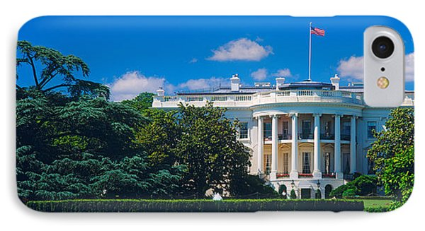 Facade Of A Government Building, White IPhone Case
