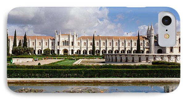 Facade Of A Monastery, Mosteiro Dos IPhone Case by Panoramic Images