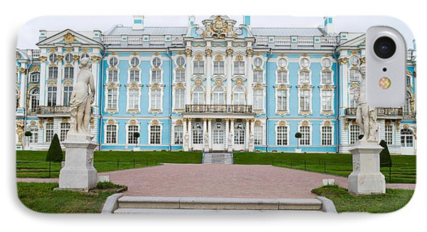 Facade Of A Palace, Tsarskoe Selo IPhone Case by Panoramic Images