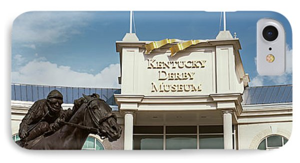 Facade Of The Kentucky Derby Museum IPhone Case
