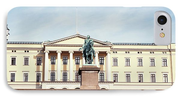 Facade Of The Royal Palace, Oslo, Norway IPhone Case