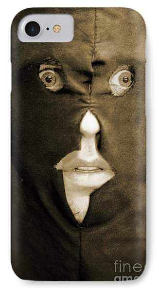 Face Of Fear IPhone Case by Jorgo Photography - Wall Art Gallery