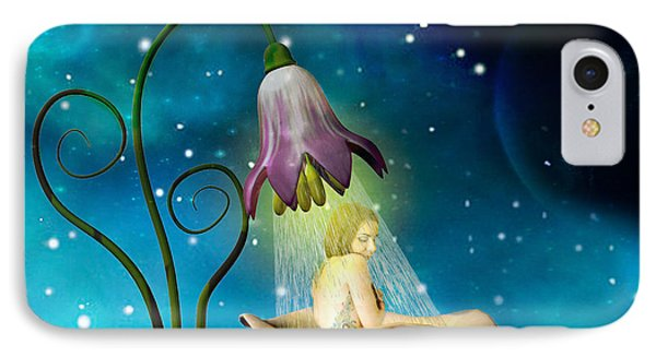 Fairy Shower IPhone Case by Kim Slater