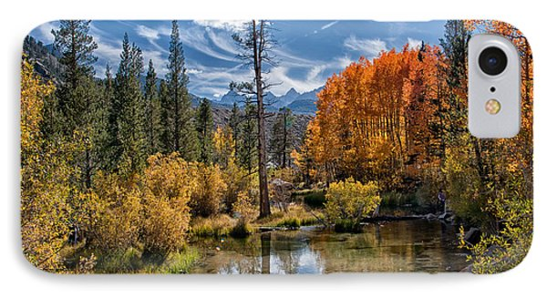Fall At Bishop Creek IPhone Case by Cat Connor