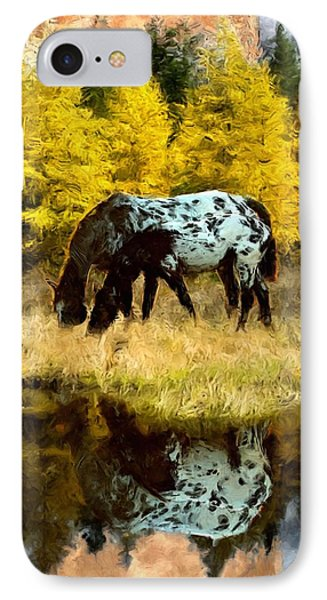 Fall Reflections Phone Case by Roger D Hale