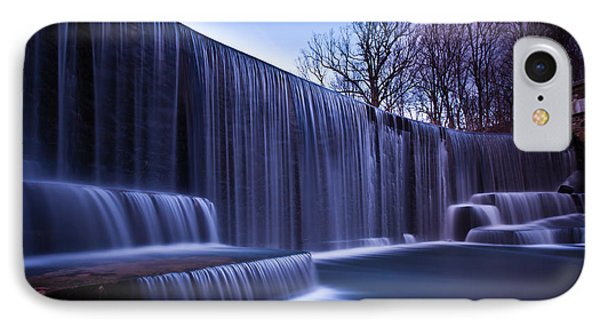 IPhone Case featuring the photograph Falling Water by Mihai Andritoiu