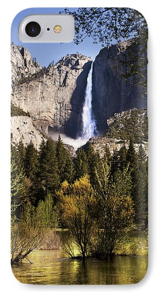 IPhone Case featuring the photograph Falls Yosemite National Park  by John Hix