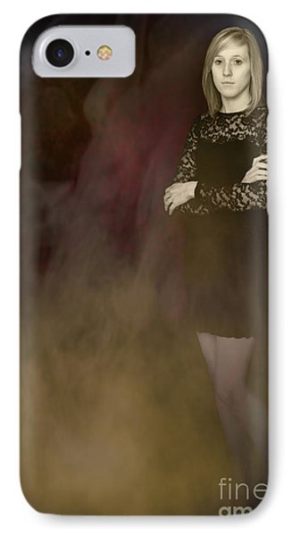 Fantasy Portrait Phone Case by Amanda Elwell