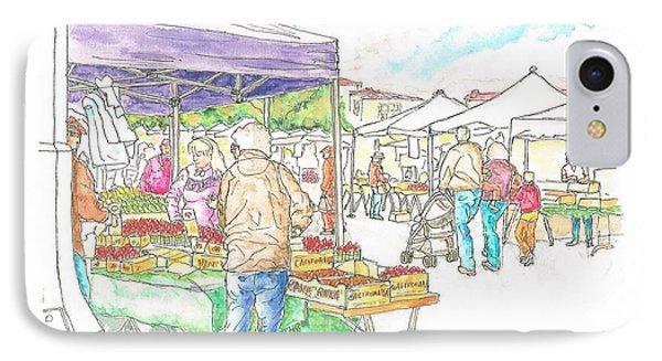 Farmers Market In Oxnard - California IPhone Case by Carlos G Groppa