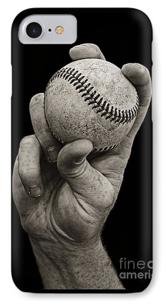 Fastball IPhone Case by Diane Diederich