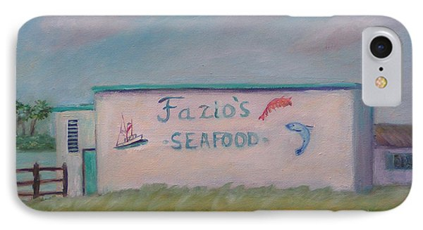 Fazios Seafood In St Augustine Florida IPhone Case