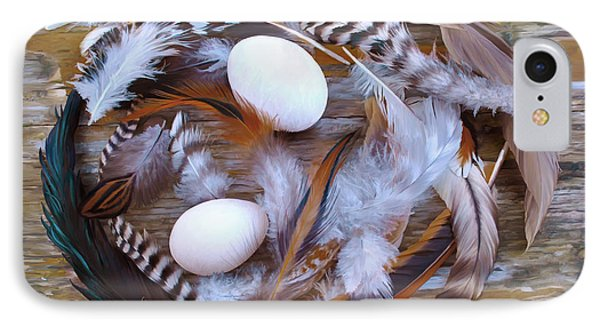 1. Feather Wrath Example IPhone Case
