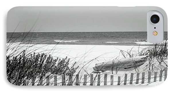 Fence On The Beach, Bon Secour National IPhone Case