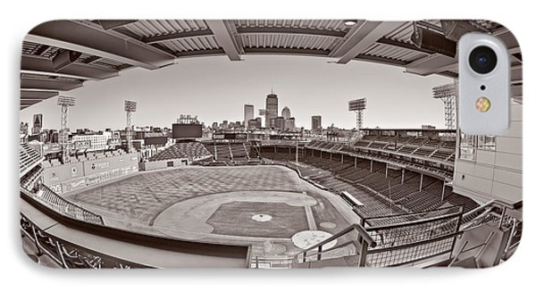 Fenway Park And Boston Skyline IPhone Case