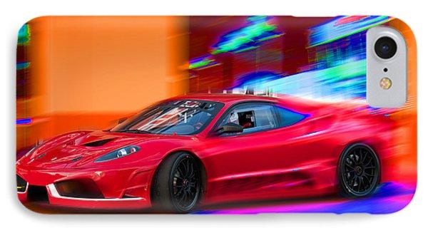 IPhone Case featuring the photograph Ferrari by Gunter Nezhoda