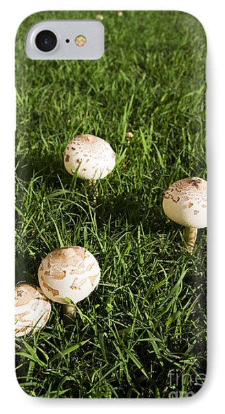 Field Of Mushrooms IPhone Case by Jorgo Photography - Wall Art Gallery