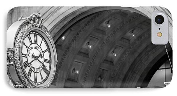 Fifth Avenue Building Clock IPhone Case by Susan Candelario