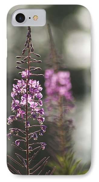 IPhone 7 Case featuring the photograph Fireweed by Yulia Kazansky