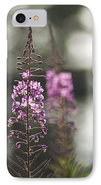 IPhone Case featuring the photograph Fireweed by Yulia Kazansky