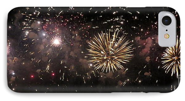 Fireworks 14 IPhone Case by France Laliberte