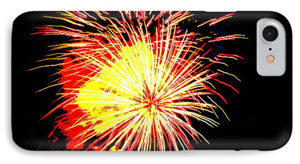 Fireworks Over Chesterbrook IPhone Case by Michael Porchik