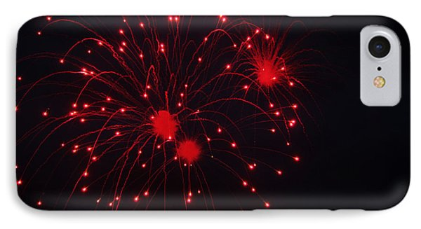 IPhone Case featuring the photograph Fireworks by Rowana Ray
