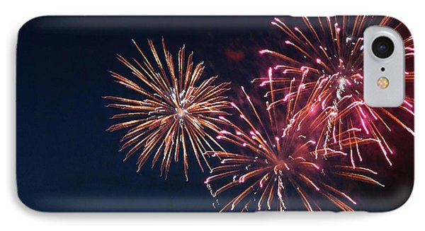 Fireworks Series Vi Phone Case by Suzanne Gaff