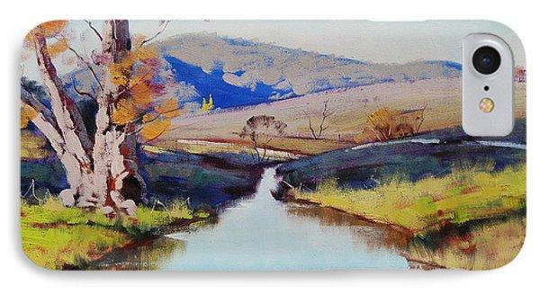 Fish River Tarana IPhone Case by Graham Gercken