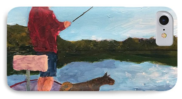 Fishing IPhone Case by Donald J Ryker III