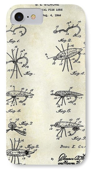 Fishing Lure Patent  IPhone Case