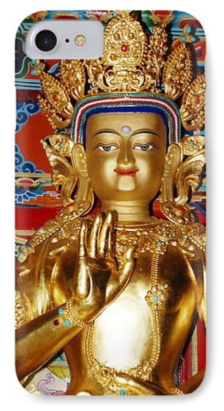 Five Dhyani Buddhas IPhone Case by Lanjee Chee