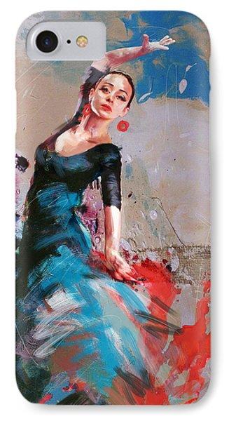 Flamenco 41 IPhone Case by Maryam Mughal
