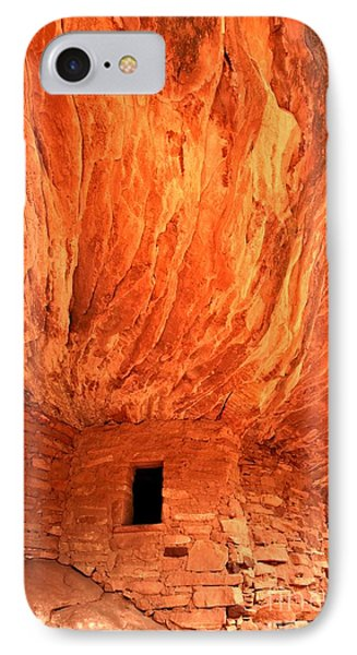 Flames From The Roof IPhone Case by Adam Jewell