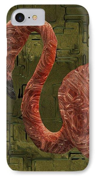 Flamingo Phone Case by Jack Zulli