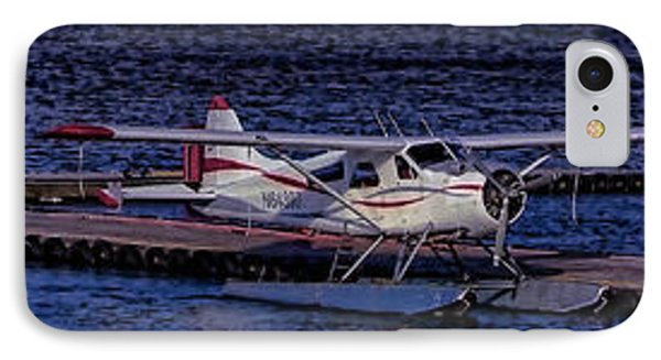 IPhone Case featuring the photograph Float Plane Dock by Timothy Latta
