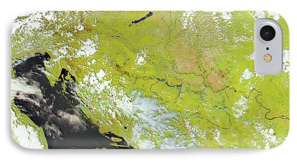 Flooding In The Balkans IPhone Case