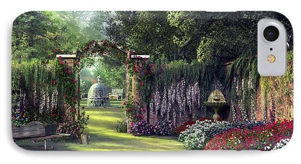 Floral Garden IPhone Case