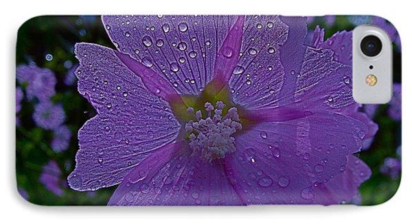 Flower After Rain IPhone Case by Rita Mueller