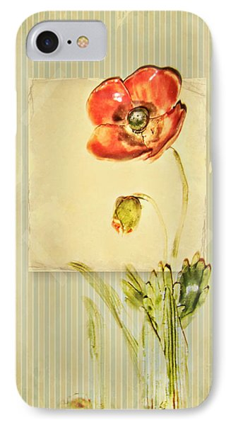Flower IPhone Case by Heike Hultsch