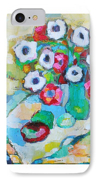 Flowers In Green Vase IPhone Case