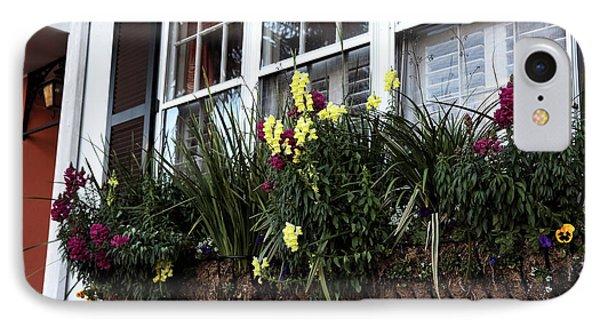 Flowers In The Window Phone Case by John Rizzuto
