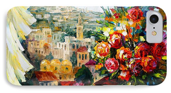 Flowers Of Jerusalem IPhone Case by Leonid Afremov