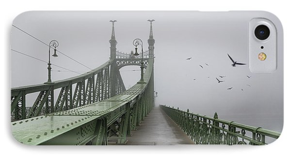 Foggy Day In Budapest IPhone Case