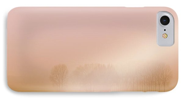 IPhone Case featuring the photograph Foggy Morning by Franziskus Pfleghart