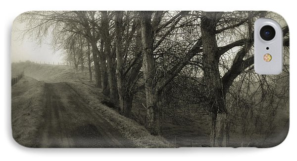 Foggy Trail IPhone Case by Les Cunliffe