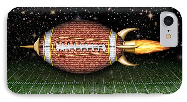 Football Spaceship IPhone Case